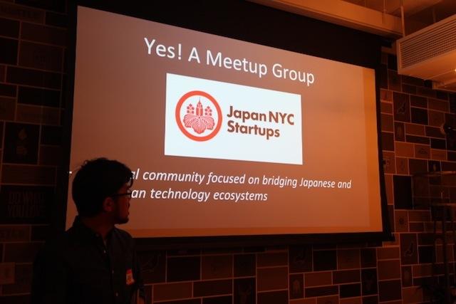 奥西さんが今年2月から始めたミートアップ「Japan NYC Startups」の様子