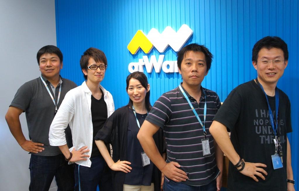 写真左から:北野弘治氏、武永恒一郎氏、木村紫帆氏、山下竜司氏、浅野祐希氏
