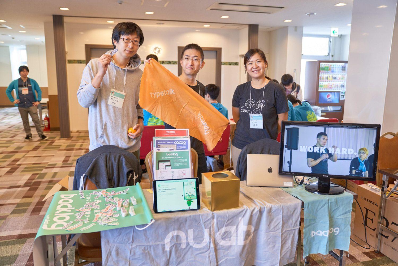 ヌーラボの京都事務所が誇るDIY BOYSが自分たちで染めたテーブルクロス