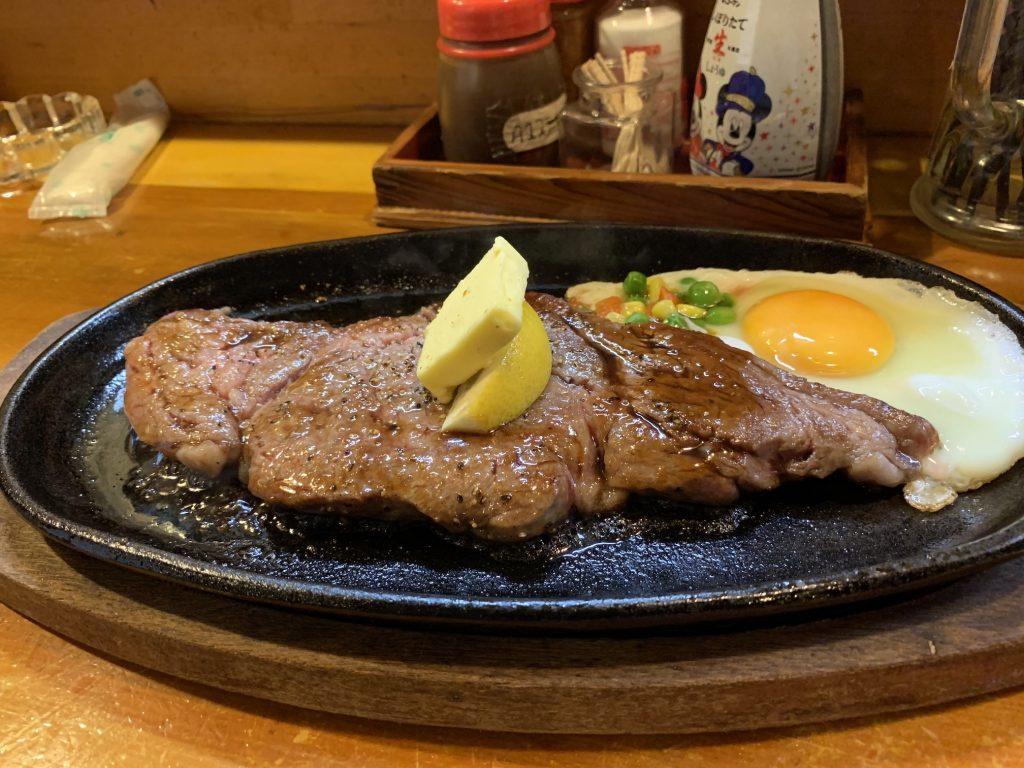 宮古牛ステーキ